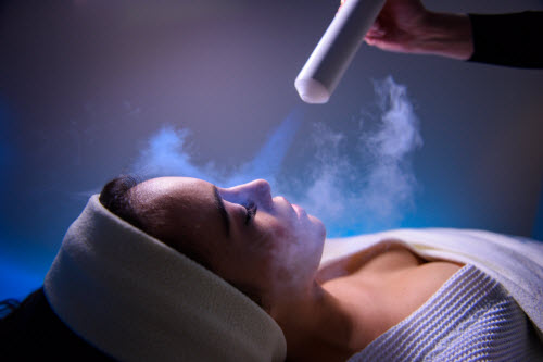 cryotherapy facials
